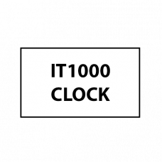 IT1000 CLOCK, real-time clock / RAM module